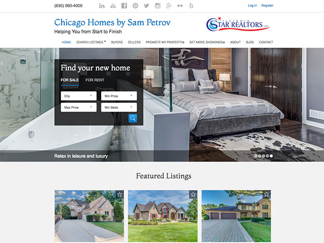 Chicago Homes by Sam Petrov